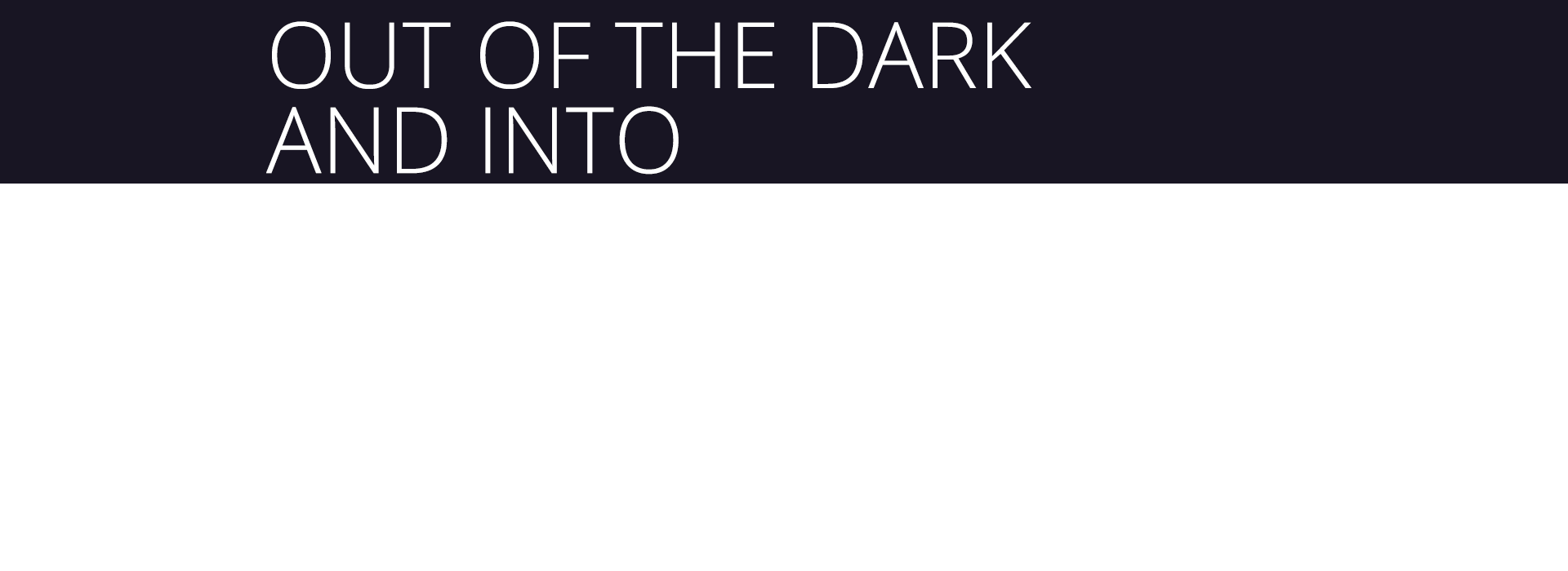 Kristen Ulmer Out of the Dark