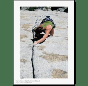 Kristen Ulmer Rock Climbing