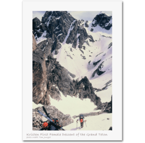 Kristen Ulmer Skiing Grand Teton