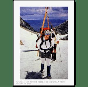 Kristen Ulmer Skiing Grand Teton _1
