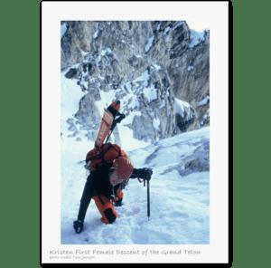 Kristen Ulmer Skiing Grand Teton _3