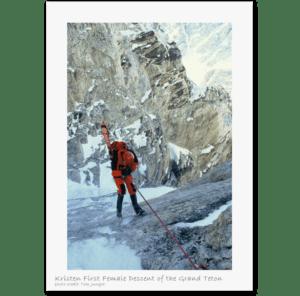 Kristen Ulmer Skiing Grand Teton _4
